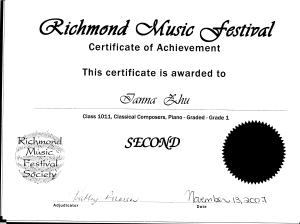 festival certificate 10