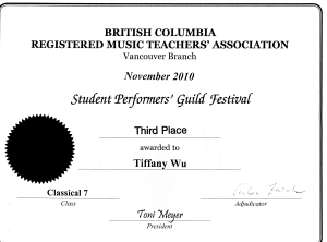 festival certificate 13