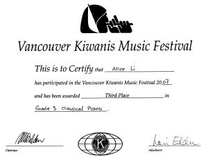 festival certificate 17