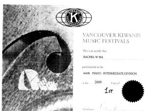 festival certificate 4