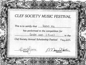 festival certificate 5