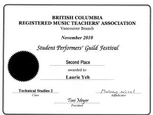 festival certificate 6
