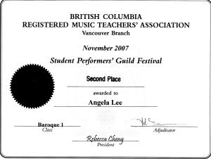 festival certificate 7