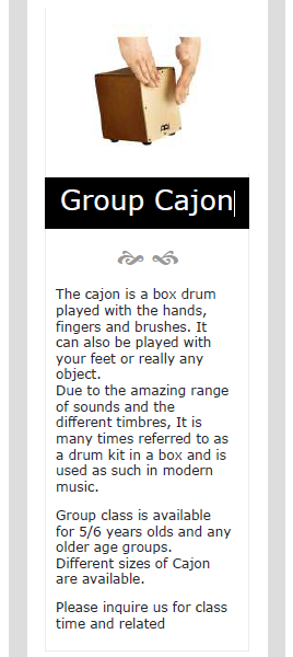 Group Cajon